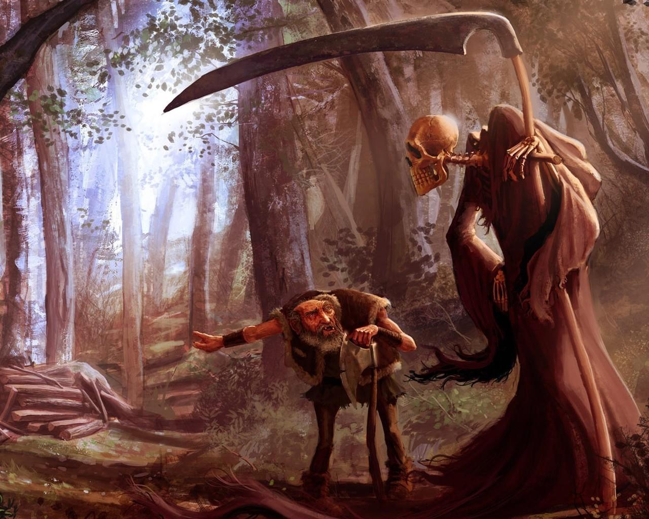 Az öregember és a Halál