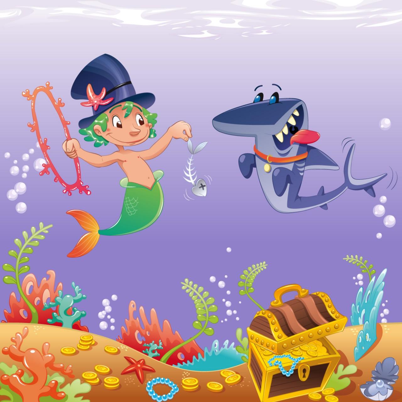 Sellőfiú és Cápafi