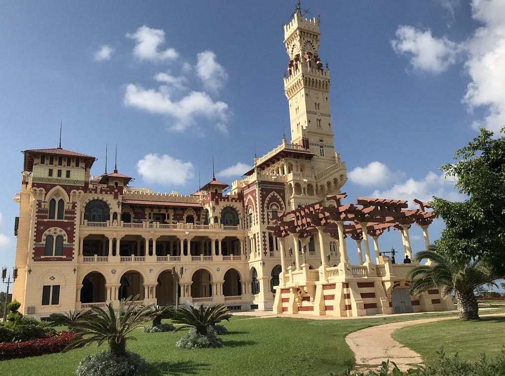 Egyiptom: A Montáza palota