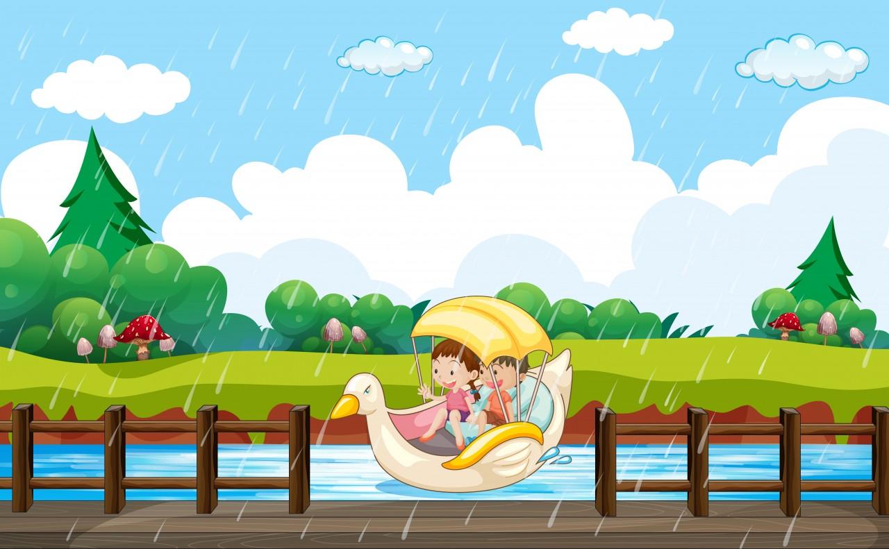 Esős számoló