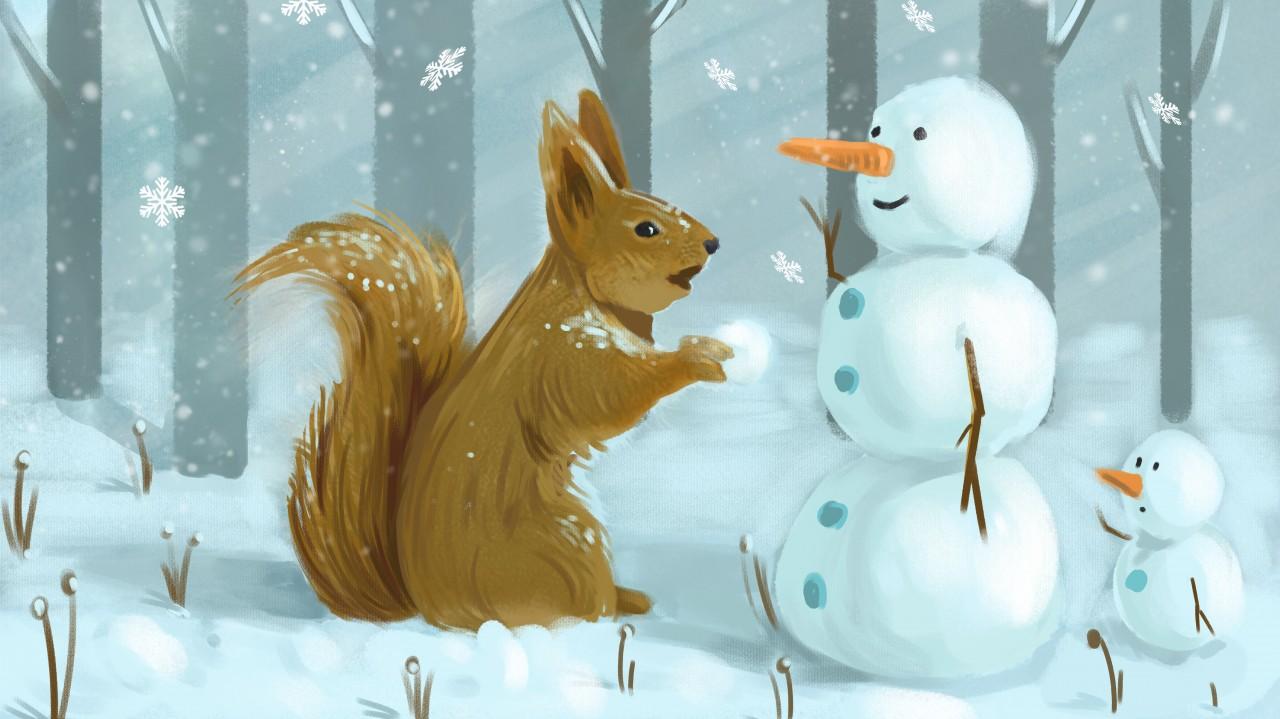 Az erdő karácsonya