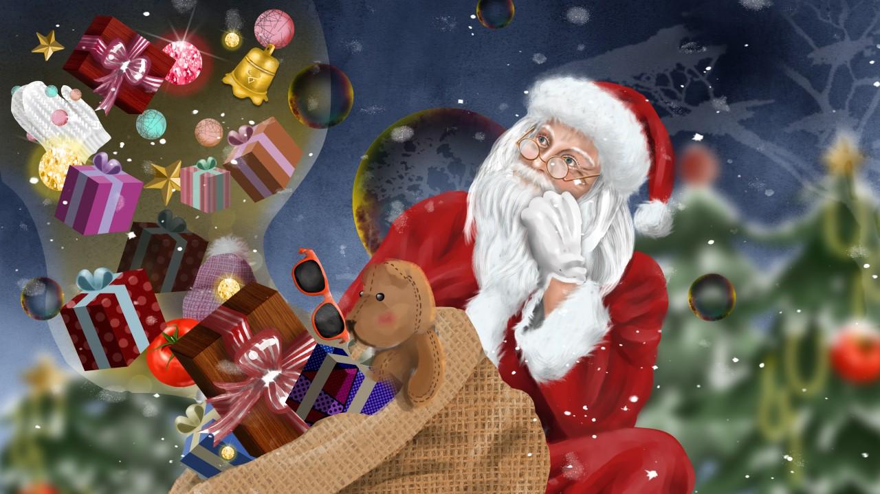 Télapó karácsonya
