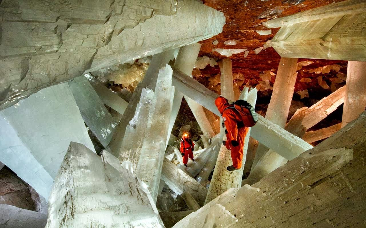Varázslatos kristálybarlang Mexikóban