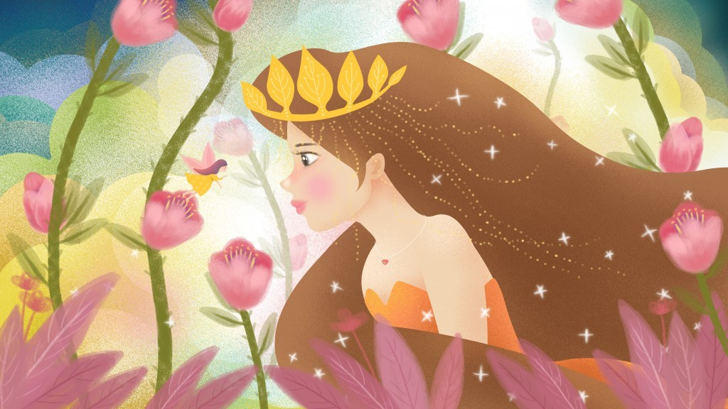 A gyermekkor vesztett királylány